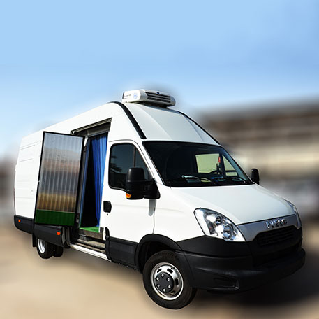 Refrigerated Vans & Pickups