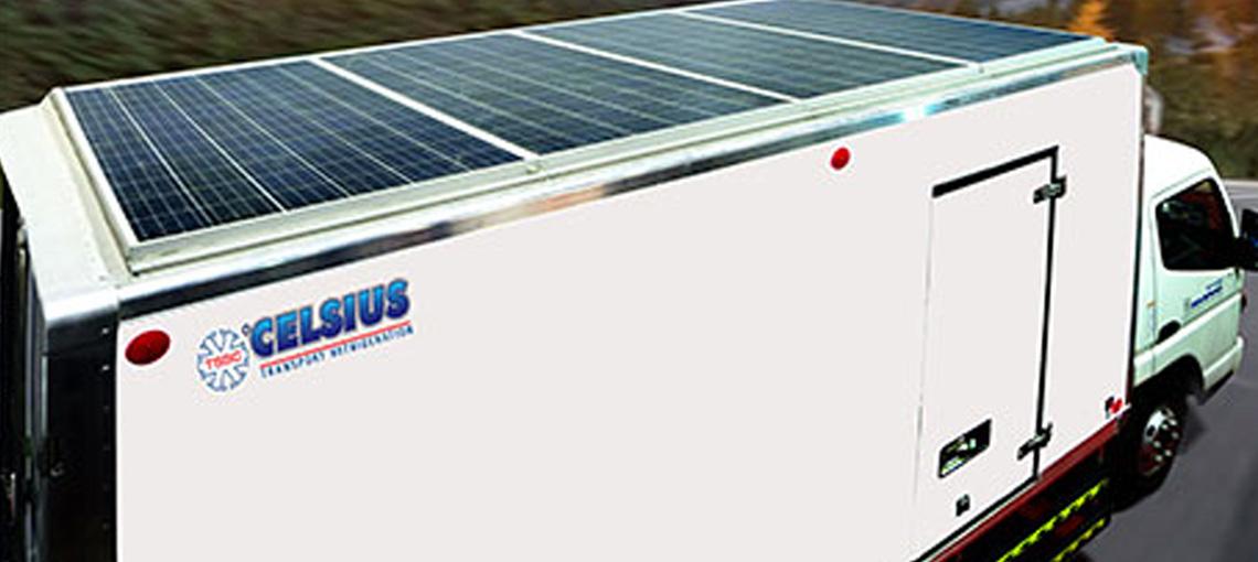 Solar Powered Trucks