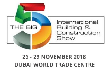 Visit our Building Envelope exhibit at the  BIG 5 DUBAI 2018