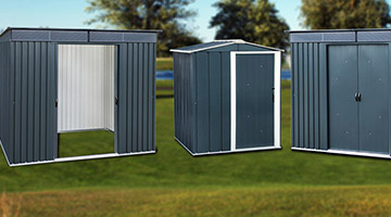 Residential Storage Metal Sheds