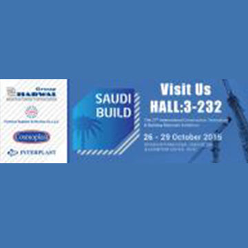 Going to Meet up at SAUDI BUILD Exhibition 26-29 OCT'2017