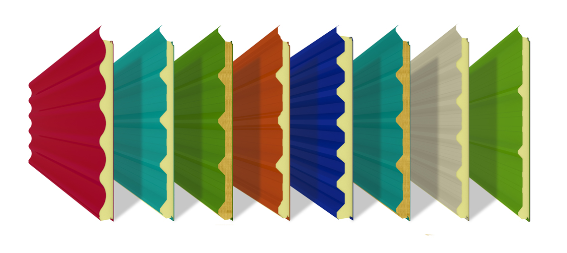 Corrugated Insulated Panels