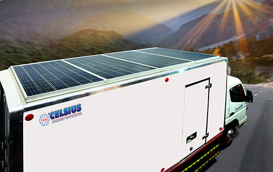Solar Powered Refrigerated Trucks